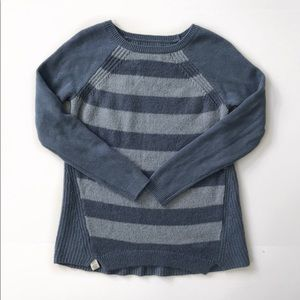 Loft sweater pullover size S blue